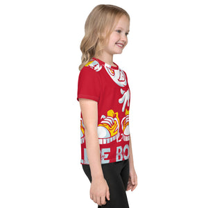 Be Bold - All Over - Red - Kids T-Shirt