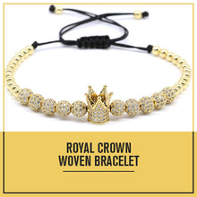 Load image into Gallery viewer, Royal Crown Adjustable Bracelet