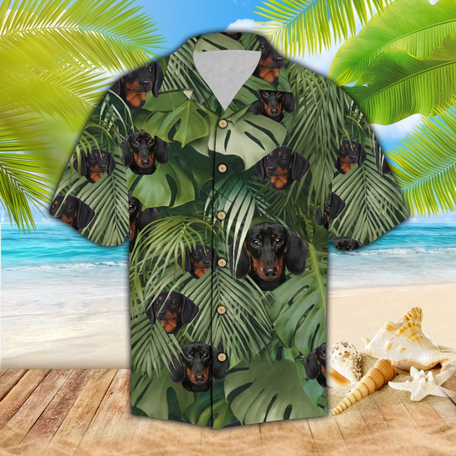 Dachshund Hawaii Shirt