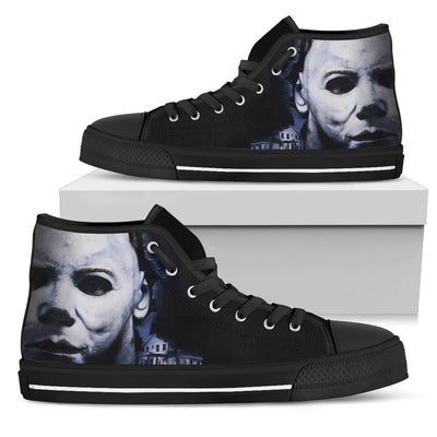 Horror Michael Myers High Top Shoe