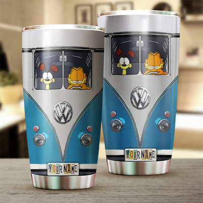Customized GF And Friend Tumbler