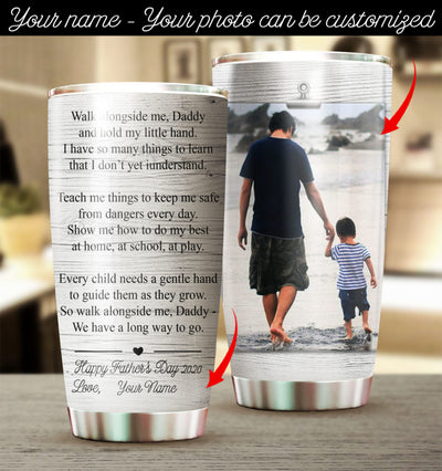 Customized Father's Day Tumbler