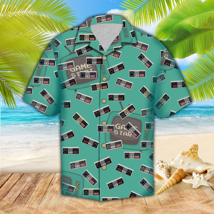 Game Controller Hawaii Shirt