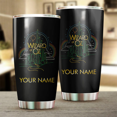 Customized O Wizard Tumbler