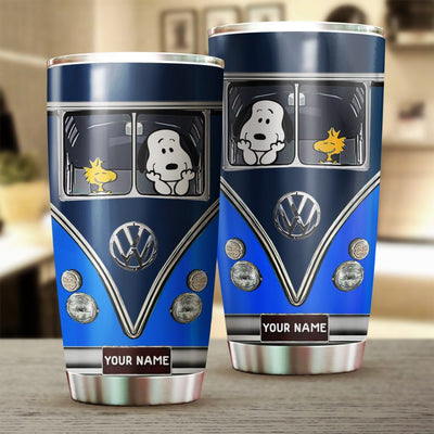 Customized SNP in Blue Van Tumbler