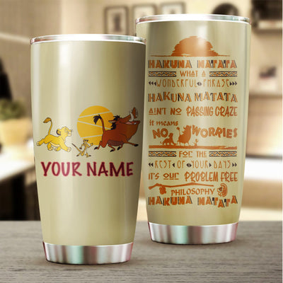 Customized King Tumbler
