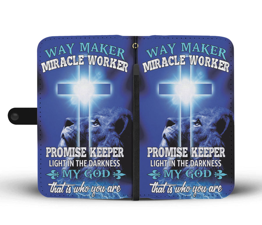 Christian Way Maker My God Wallet Case