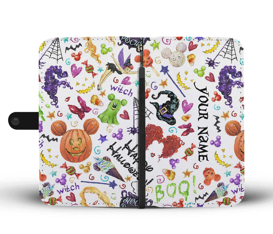 Customized HCPC Halloween Wallet Case