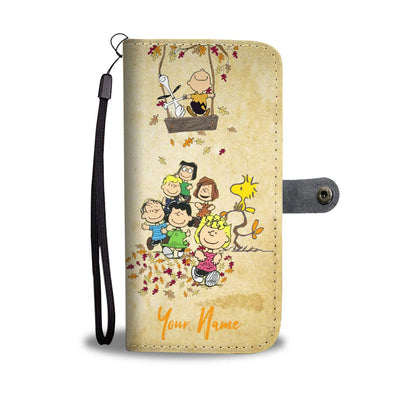 Customized PN Autumn Swing Wallet Case