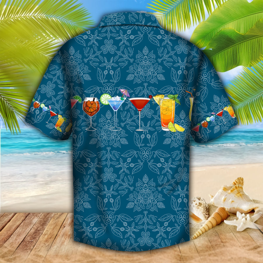 Cocktails Hawaii Shirt