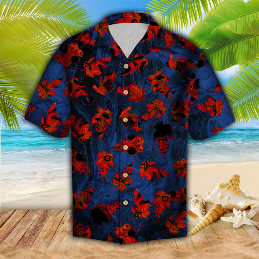 Horror Leaves Hawaii Shirt