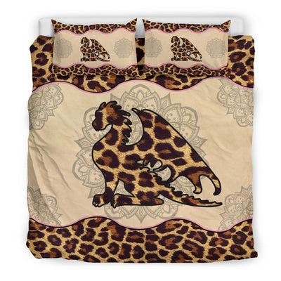 Dragon Leopard Skin Bedding