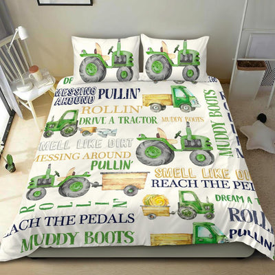 Drive Tractors Bedding Set