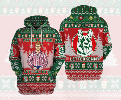 Letterkenny Ugly Sweater Hoodie