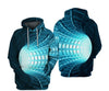 Daily Hoodie 3D Graphic Hooded Basic Hoodies