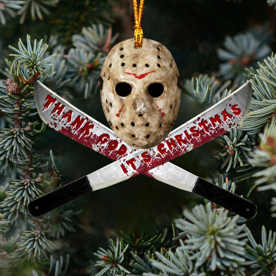 Horror Mask Ornament