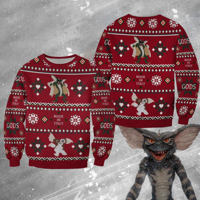 Gremlins Christmas Wool Sweater