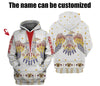 Customized Eagle Hoodie