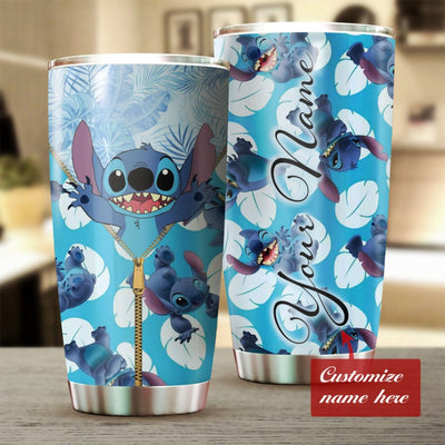 Customized Zipped Cute ST Tumbler
