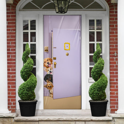 Dogs Door Cover