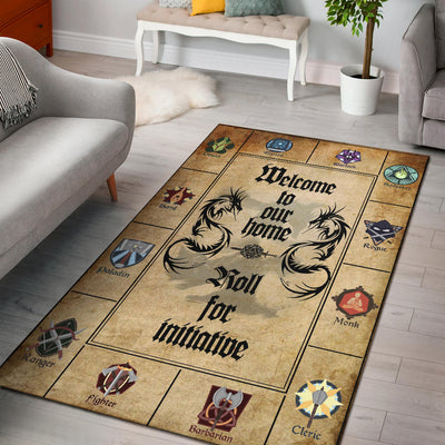 Dungeons And Dragons Washable Rug