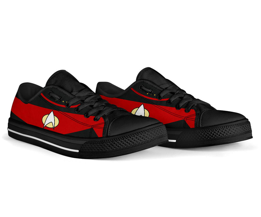 Star Red Low Top Shoe