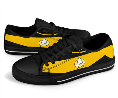Star Yellow Low Top Shoe