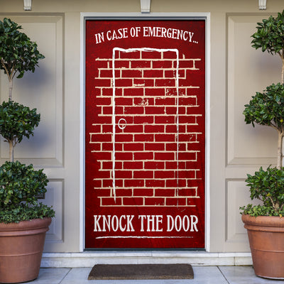 In Case Of Emergency Red Door Cover