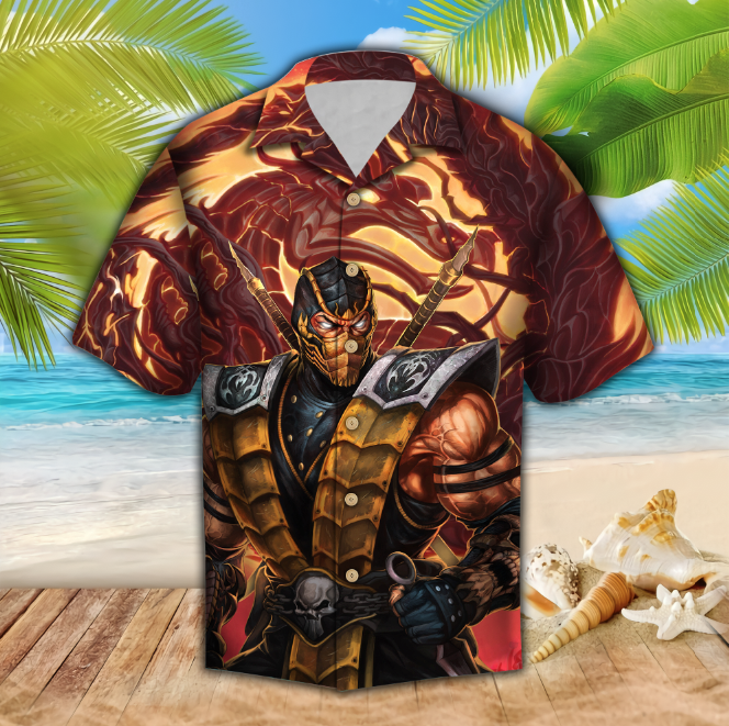 MK Dragon Hawaii Shirt