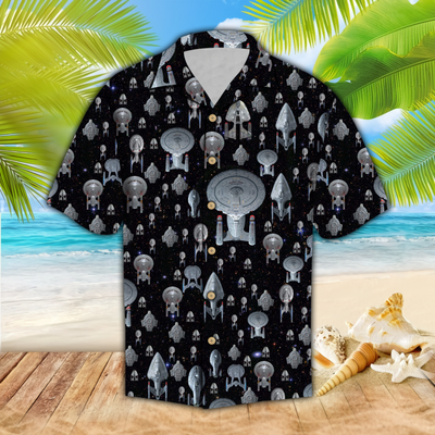 Spaceship Hawaii Shirt