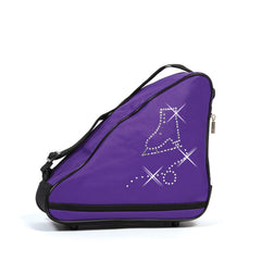 1038 Crystal Skates Single Bag - Concord Purple