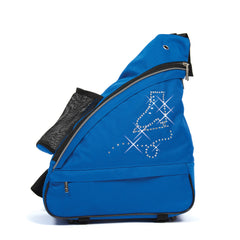 1052 Crystal Skates Shoulder Pack - Royal Blue