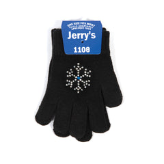 1108 Snowflake Crystal Mini Gloves