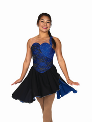 143 Breathless Dance Dress - Sapphire Blue