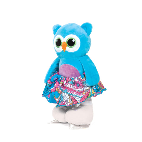 1484 Owl - Skating Stuffies