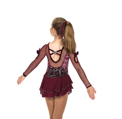 166 Infinite Charm Dress - Bordeaux