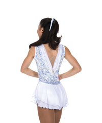 209 Winterfest Dress – White Frost
