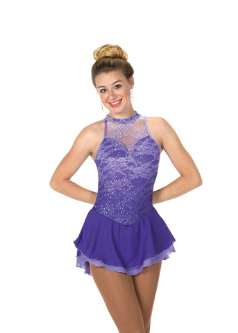 217 Lace on Lilacs Dress