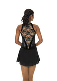 221 Lace Drop Dress - Black
