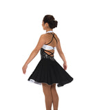 263 White Night Dance Dress