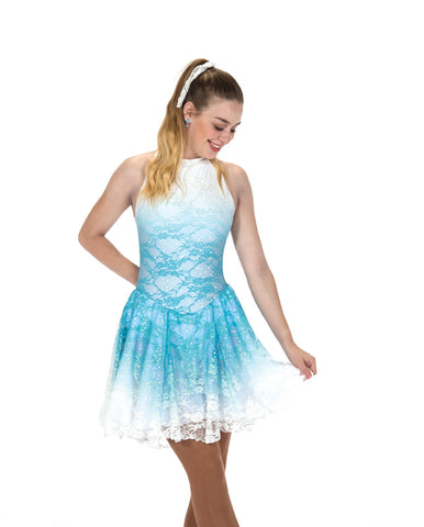 264 Waltz in the Wind Dress - Breezy Blue