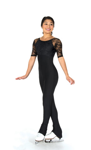 294 Lace Overlay Catsuit