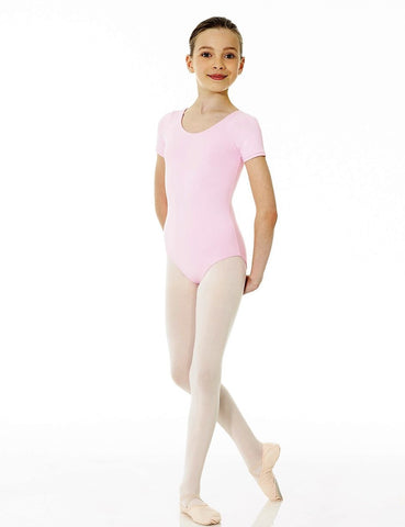 Mondor Short Sleeve Leotard Child|Mondor Maillot Manches Courtes Enfant
