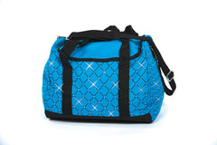 5030 - Diamond Crystal Carry All Skate Bag - Turquoise Blue