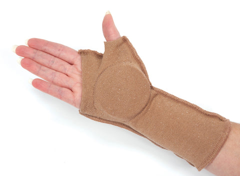 Padded Touch Hand/Palm Guards - Beige Only