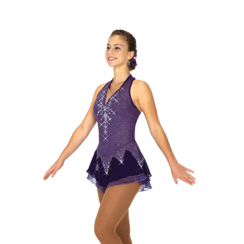 88 Icicles & Amethysts Dress