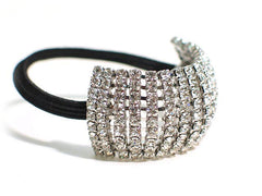 Stretch Rhinestone Ponytail Holder|Élastique Queue de Cheval avec Cristal