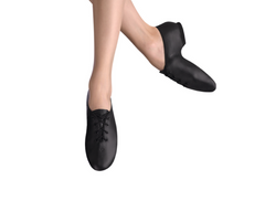 Split Sole Black Jazz Shoe|Split Semelle Chaussures Jazz Noir