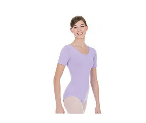 Mondor Short Sleeve Leotard Adult|Mondor Maillot Manches Courtes Femme