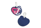 ZÜCA  – Insert Bag Anchor My Heart (Name Tag & Insert)|ZÜCA - Sac d'insertion Anchor My Heart (Name Tag & Insert)